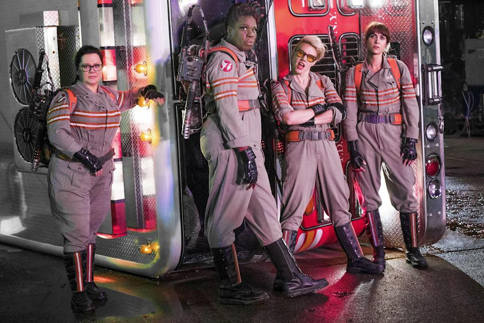 The Ghostbusters all-female cast