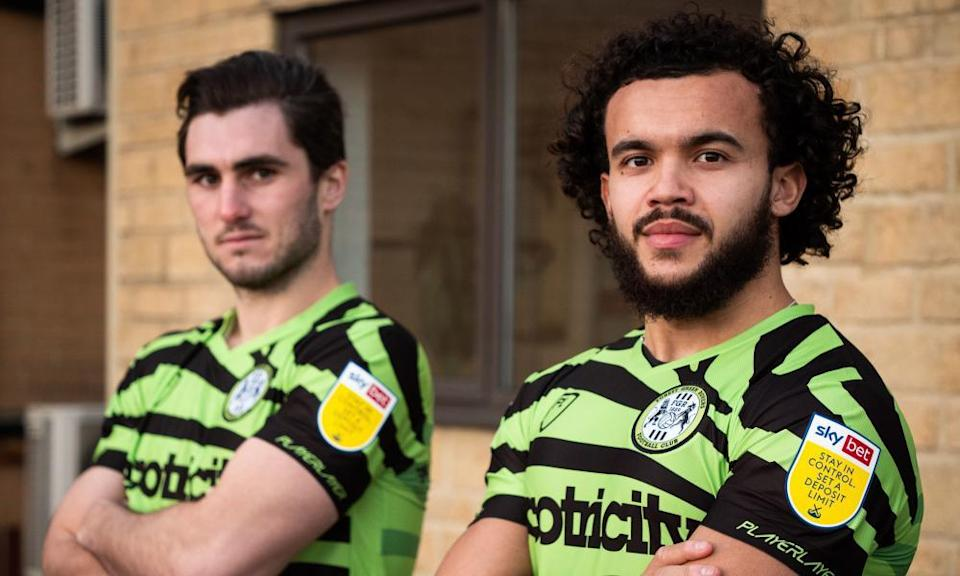 <span>Photograph: Forest Green Rovers/PA</span>