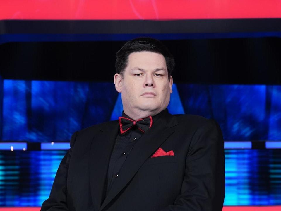 Presenter of The Chase Mark Labbett: Rex Features