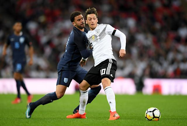 The England defense and the Germany midfield are among the things to watch during the March international break. (Getty)