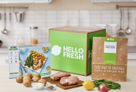 """<p><strong>Hello Fresh</strong></p><p>hellofresh.com</p><p><strong>$65.00</strong></p><p><a href=""""https://go.redirectingat.com?id=74968X1596630&url=https%3A%2F%2Fwww.hellofresh.com%2Fgift&sref=https%3A%2F%2Fwww.goodhousekeeping.com%2Fholidays%2Ffathers-day%2Fg21205637%2Ffathers-day-gifts-for-grandpa%2F"""" rel=""""nofollow noopener"""" target=""""_blank"""" data-ylk=""""slk:Shop Now"""" class=""""link rapid-noclick-resp"""">Shop Now</a></p><p>Cut Grandpa's grocery shopping and cooking time in half with Hello Fresh's meal delivery service. You can pick out recipes you think he'd enjoy most. All the ingredients and easy-to-follow recipe cards will be mailed right to his door.<br></p>"""