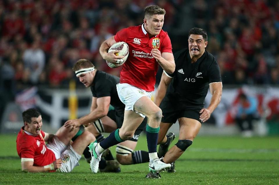 Some 342,000 tickets were sold for last year's Lions tour to New Zealand (AFP Photo/MICHAEL BRADLEY)