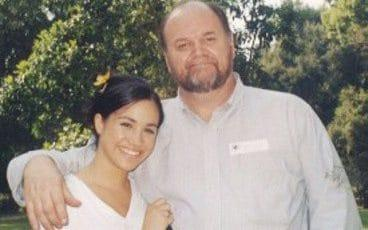 Thomas Markle and Meghan - Pix supplied as a technical service by Tim Stewart News Limited 07932745508. No copyright inferred o