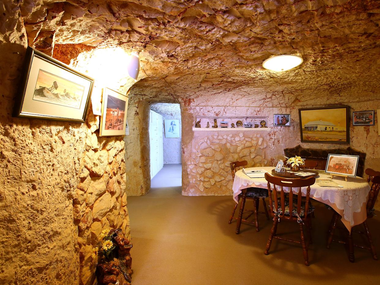 A home in Coober Pedy.