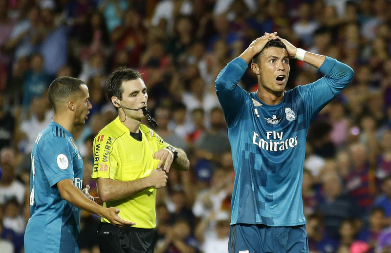 Cristiano Ronaldo suspended five games for red card ffc7a4774