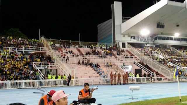 The Pahang FA allegedly refused to let JDT fans with tickets enter the Darulmakmur Stadium for their FA Cup quarter-final tie on Saturday.