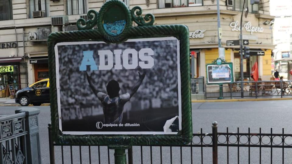 Argentinians Hold Massive Funeral For Diego Maradona | Getty Images/Getty Images