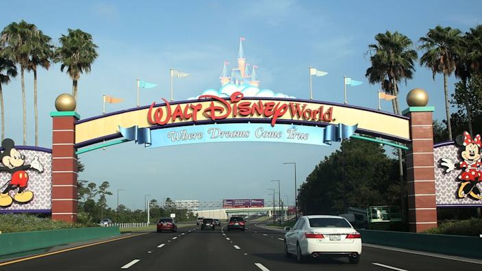 Walt Disney World was closed in March due to concerns over coronavirus