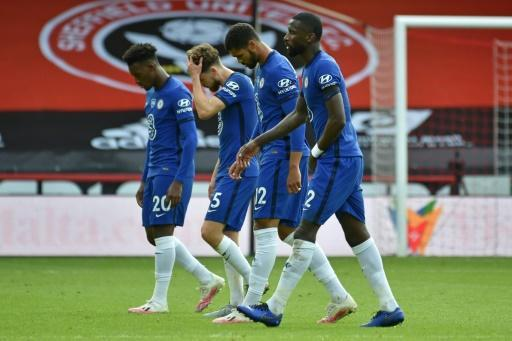 A case of the Blues: Chelsea's 3-0 defeat at Sheffield United puts their Champions League chances for next season at risk