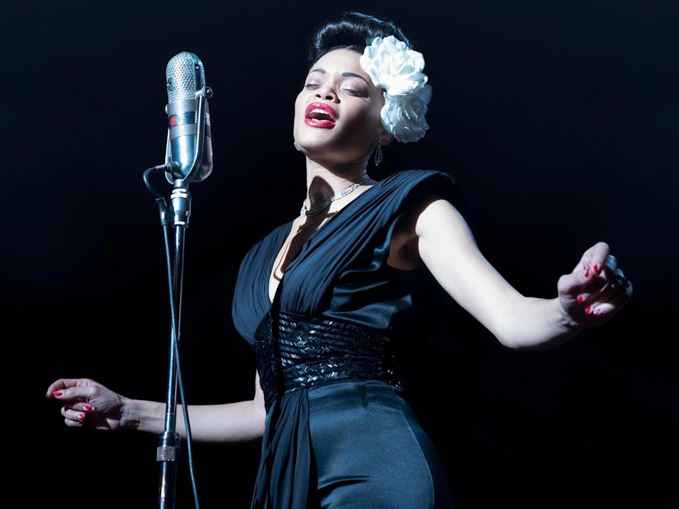 <p>Andra Day delivers  a fearless, dedicated performance that never ties itself to perfect replication, nor skulks in the shadows of its predecessors</p> ( Takashi Seida )