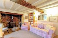 """<p>Looking for some decorating inspo? Look no further than this characterful living room.</p><p><strong>Looking for some positivity? Get Country Living magazine posted through your letterbox every month. </strong></p><p><a class=""""link rapid-noclick-resp"""" href=""""https://go.redirectingat.com?id=127X1599956&url=https%3A%2F%2Fwww.hearstmagazines.co.uk%2Fcl%2Fcountry-living-magazine-subscription-website&sref=https%3A%2F%2Fwww.countryliving.com%2Fuk%2Fhomes-interiors%2Fproperty%2Fg35467266%2Fcottages-for-sale-uk%2F"""" rel=""""nofollow noopener"""" target=""""_blank"""" data-ylk=""""slk:SUBSCRIBE NOW"""">SUBSCRIBE NOW</a></p><p><strong>Like this article? Sign up to our newsletter to get more articles like this delivered straight to your inbox.</strong></p><p><a class=""""link rapid-noclick-resp"""" href=""""https://hearst.emsecure.net/optiext/cr.aspx?ID=zsATrj4qAwL7PXfHOfbti0xjie5wOfecvOt8e1A3WvL5x0TsMrTgu8waUpN%2BcCNsV3wq_zCaFTleze"""" rel=""""nofollow noopener"""" target=""""_blank"""" data-ylk=""""slk:SIGN UP"""">SIGN UP</a></p>"""