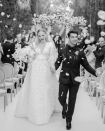 <p>Sansa Stark is a married woman! Sophie Turner and Joe Jonas exchanged vows in France in June in front of guests, one month after their quickie Vegas wedding following the Billboard Music Awards. </p>