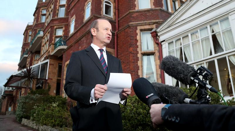 Henry Bolton is clinging on as Ukip leader despite avote of no confidence from his party's ruling committeein the aftermath of the controversy over racist comments made by his now ex-girlfriend about Meghan Markle.