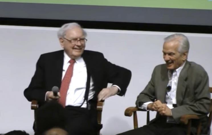 Warren Buffett and Jorge Paulo Lemann