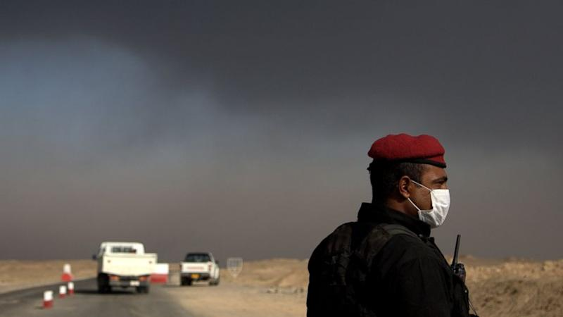 Sulfur Dioxide Plume Moving Across Iraq, Satellite Images Show