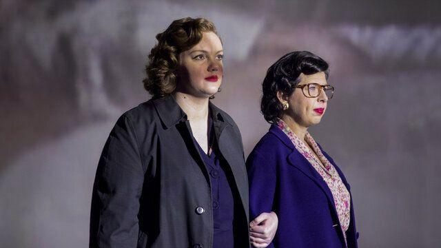 "Shannon Purser (left) and Heather Matarazzo as activists Del Martin and Phyllis Lyon in ""Equal,"" which debuted Thursday on HBO Max.  (Photo: HBO Max)"