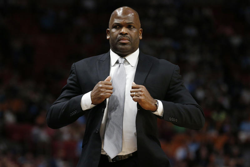 Nate McMillan finished top-six in Coach of the Year voting each of the past three seasons. (Michael Reaves/Getty Images)