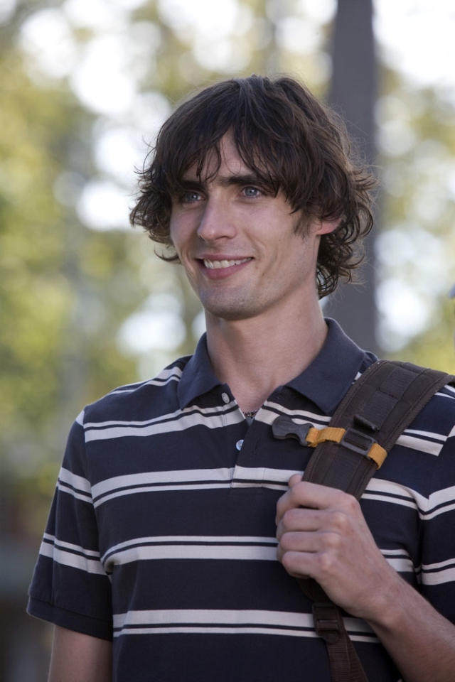 """<a href=""""http://movies.yahoo.com/movie/contributor/1809002709"""">Tyson Ritter</a> in Columbia Pictures' <a href=""""http://movies.yahoo.com/movie/1809921361/info"""">The House Bunny</a> - 2008"""