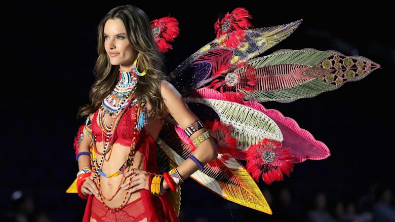f62969534b Alessandra Ambrosio Emotionally Closes Out Her Last Victoria s Secret  Fashion Show -- Pics!