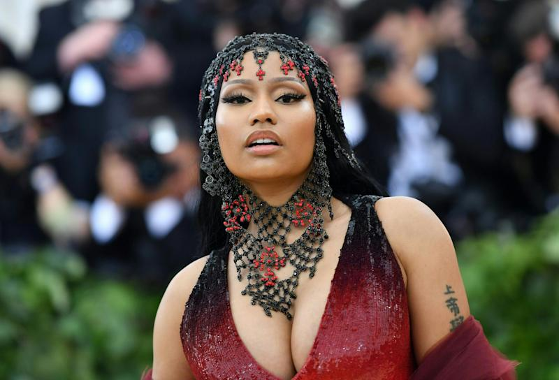 Luxury: Minaj reportedly purchased the gift minutes after the announcement: AFP/Getty Images