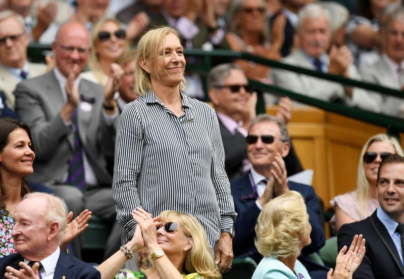 U.S. Open titles will not be devalued by pull-outs, says Navratilova