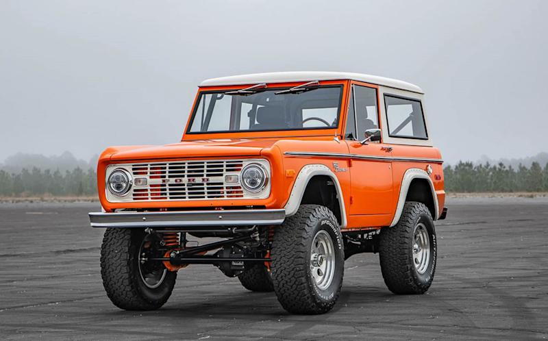 Forget waiting until 2021 and buy a classic Ford Bronco NOW