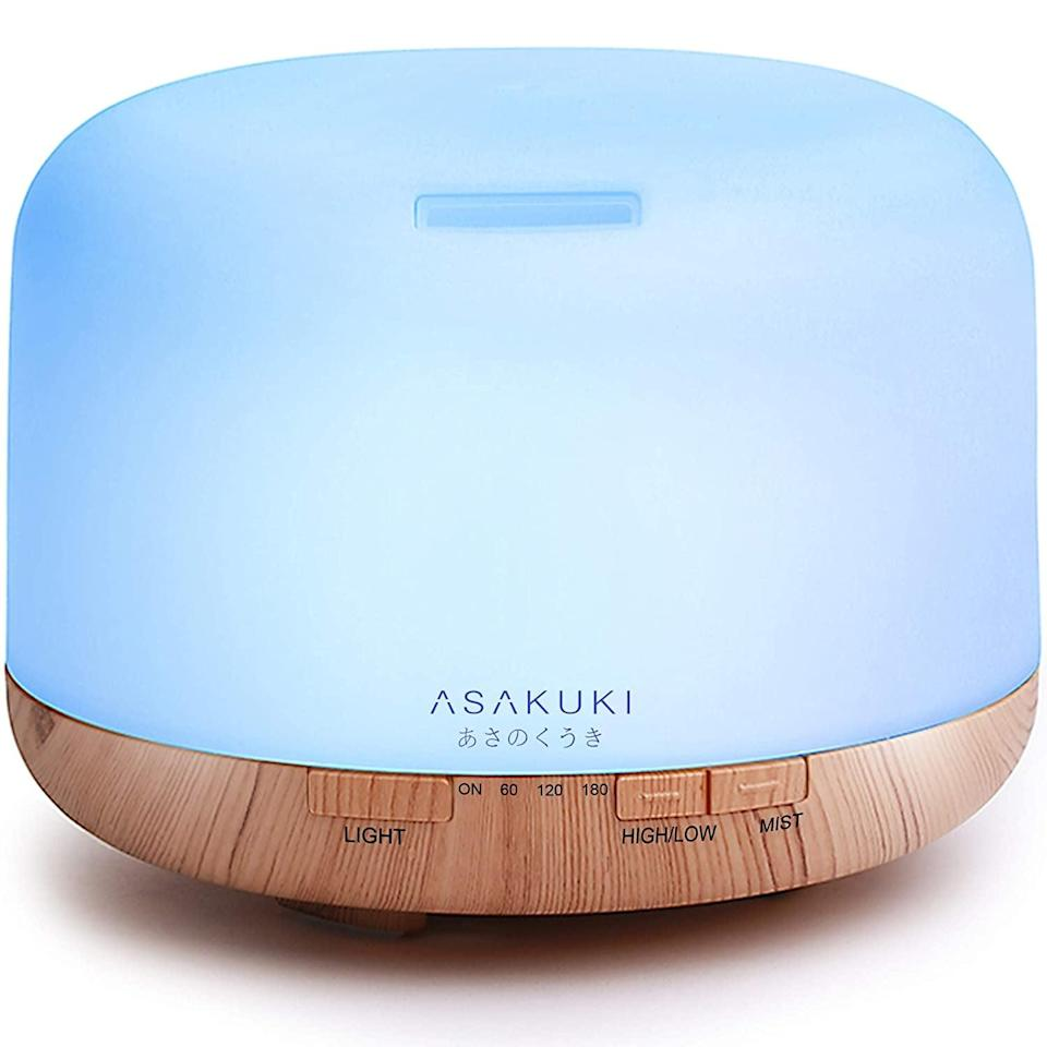 <p>A diffuser is an awesome gift. This <span>Asakuki Premium Essential Oil Diffuser</span> ($22) is a popular, affordable option.</p>