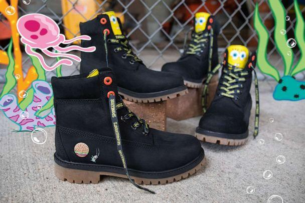 PHOTO: Timberland launches new SpongeBob-themed collection. (Timberland)
