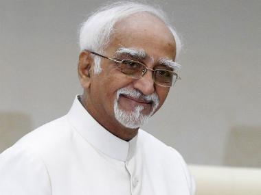 'Some trying to time travel and rewrite India's history,' former vice-president Hamid Ansari slams BJP