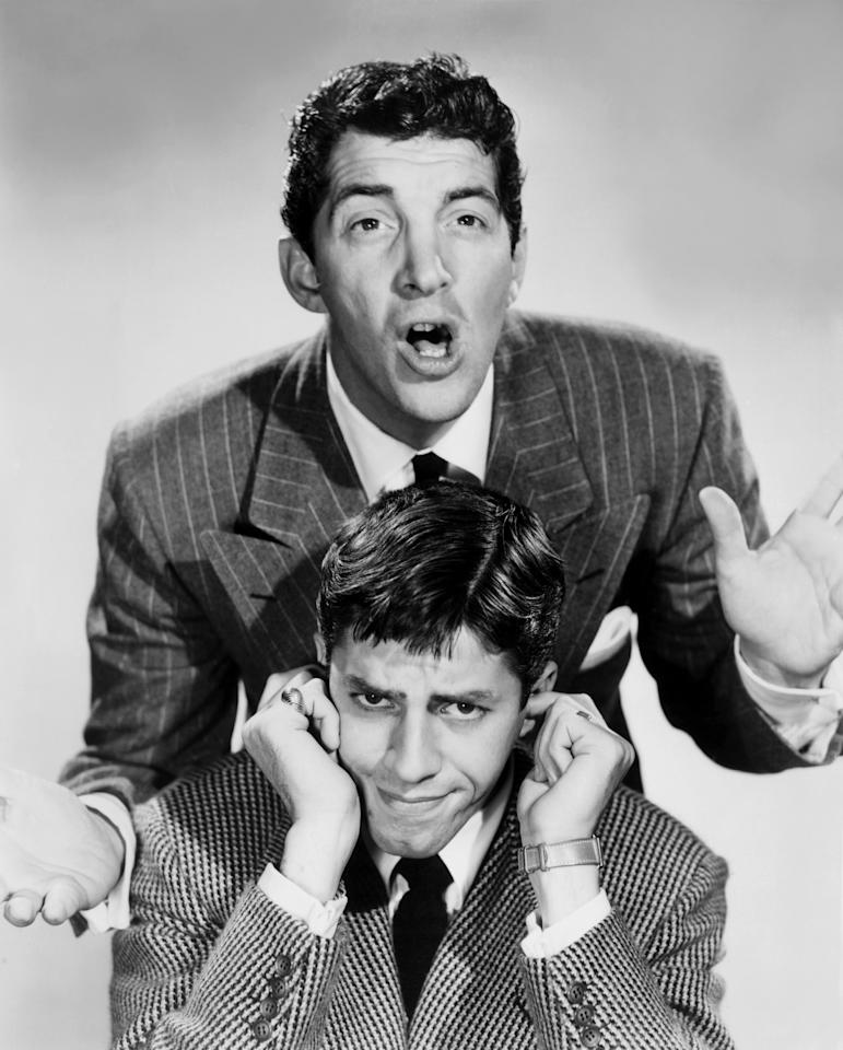 <p>Dean Martin and Jerry Lewis showed off their considerable comedy chops on this musical-variety series that featured the top acts of the day. (Photo: Everett Collection) </p>