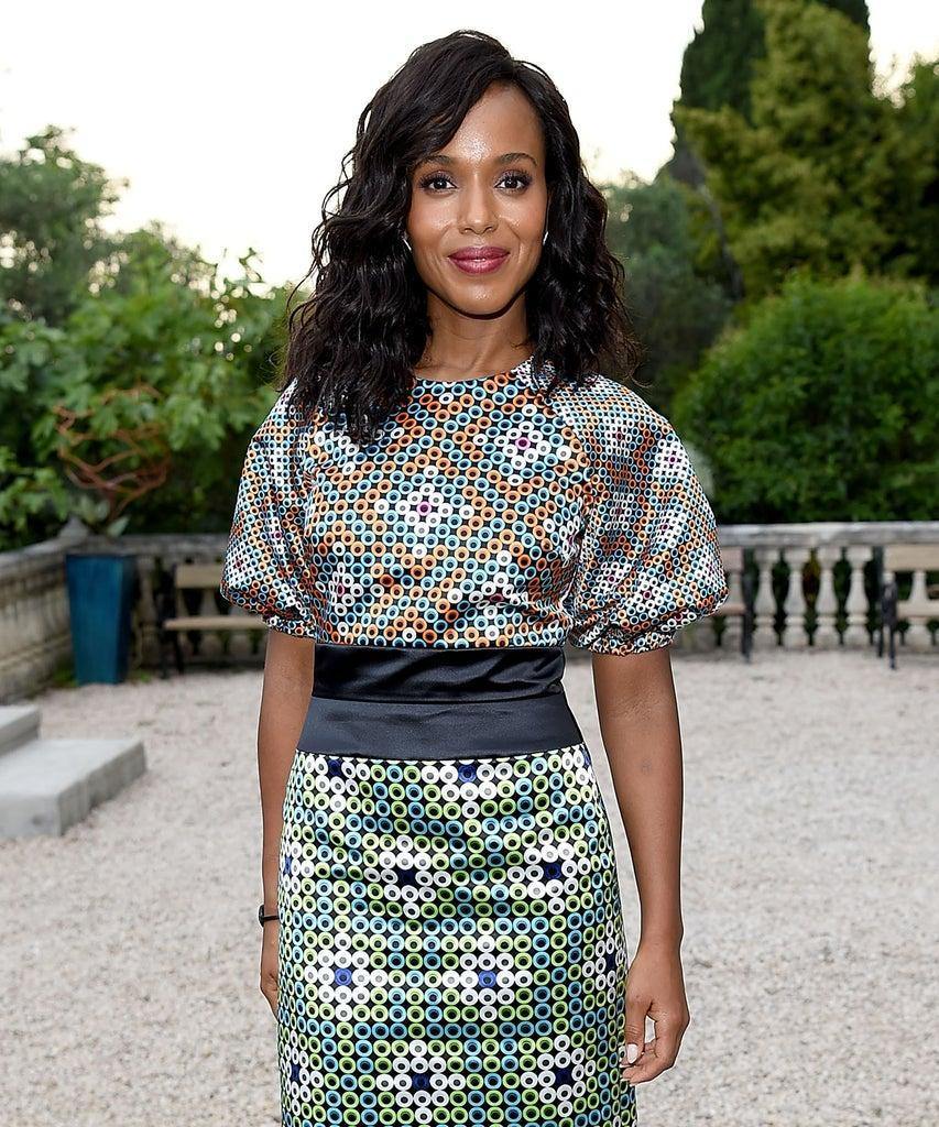 CANNES, FRANCE – JUNE 18: Kerry Washington attends as Spotify and Hulu host a night for creators, artists and innovators during Cannes Lions 2018 at Chateau Saint George on June 18, 2018 in Cannes, France. (Photo by David M. Benett/Dave Benett/Getty Images for Spotify)