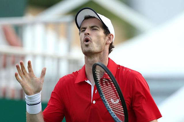 Andy Murray's hopes of following up his Queen's doubles triumph ended in disappointment after a straight sets defeat at the Eastbourne International Open.The Scot tasted success on his return to action with Feliciano Lopez last week but struggled to find the same connection with Brazilian Marcelo Melo.The pair were swept aside in the first set by the experienced Colombian duo Robert Farah and Juan Sebastian Cabal, going down 6-2, 6-4 on Centre Court in just over an hour of play.A sold-out crowd turned up to see the 32-year-old back in action and, while the limitations to his game are evident due to his hip problem, his undeniable ability was just as clear to see.Time after time, the former world number one was forced to pull out superb shots when asked but his partner Melo struggled to live up to the same form in the first set.Cabal and Farah were looking extremely confident on their serve and that proved to be the difference as they strolled to a 6-2 lead.Melo began to find his feet and improved in the second, but the pair suffered a break early in the second set which left them on the back foot.Murray continued to show glimpses of his ability, digging out a stunning passing backhand winner at 4-3, but the combination of Cabal and Farah proved to be too strong. Despite clinging on for much of the second set, it proved to be in vain as Cabal's serving was both powerful and accurate. Armed with two match points, he sent Melo wide and not even the towering Brazilian could reach it.Murray's doubles journey may be at an end at Eastbourne, but perhaps it's just the start of his comeback of his singles career.