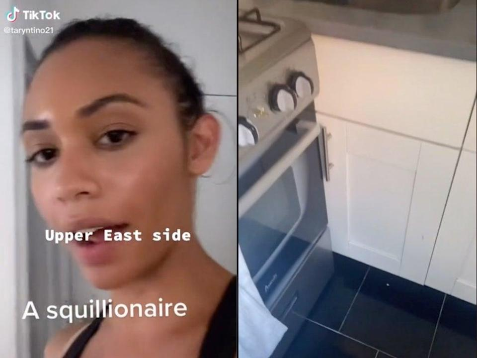 Woman describes what it's like to live in Upper East Side apartment when you're 'not a squillionaire' (TikTok / @taryntino21)