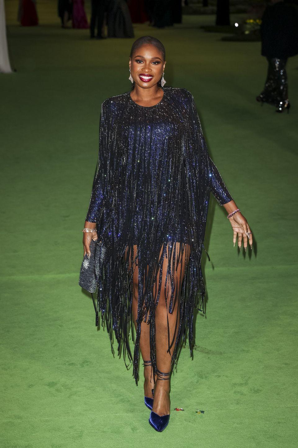 <p>in Alexandre Vauthier and Tamara Mellon shoes</p>