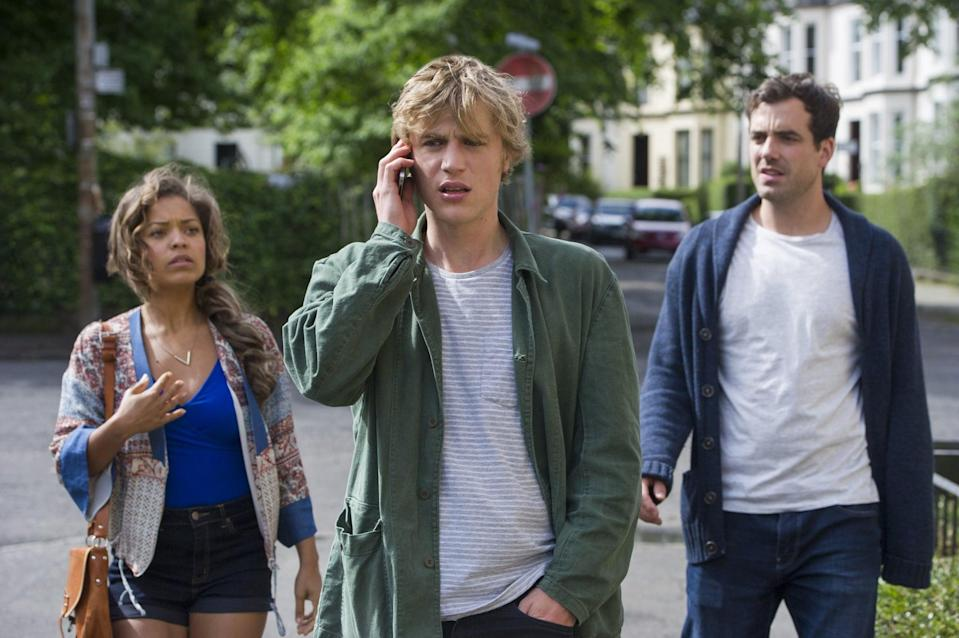 """<p>In the romantic comedy <strong>Lovesick</strong>, Dylan finds out he has chlamydia. He and his friends go back over Dylan's previous relationships as he lets all his previous partners know what he has. </p> <p><a href=""""https://www.netflix.com/title/80041601"""" class=""""link rapid-noclick-resp"""" rel=""""nofollow noopener"""" target=""""_blank"""" data-ylk=""""slk:Watch Lovesick on Netflix now"""">Watch <strong>Lovesick</strong> on Netflix now</a>. </p>"""