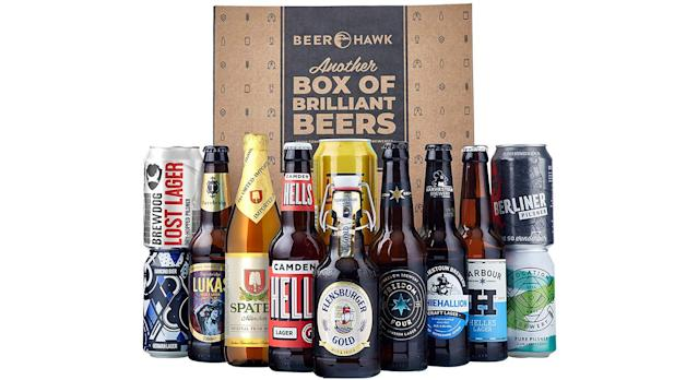 Beer Hawk World Lager Discovery Mixed Case