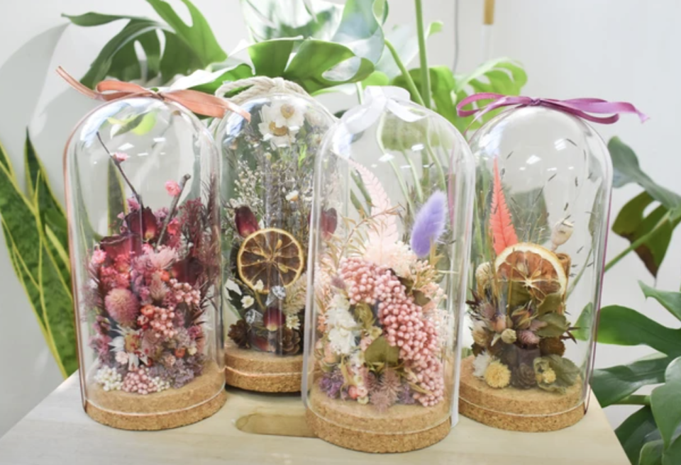 Dried Flowers Dome Workshop. PHOTO: Klook
