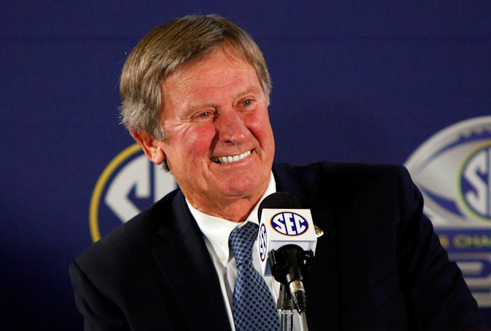 Steve Spurrier spent 23 of his 26 seasons as a college football head coach in the SEC.