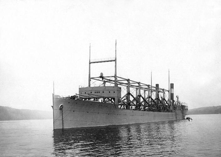 The U.S.S. Cyclops disappeared near Bermuda after returning from a trip to Brazil in March 1918. (Apic / Getty Images)