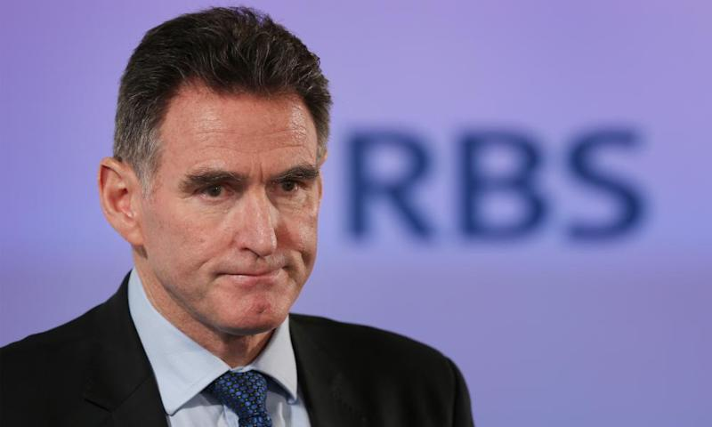 Ross McEwan, chief executive of RBS, was asked by MPs why the bank planned to close 62 branches in Scotland.