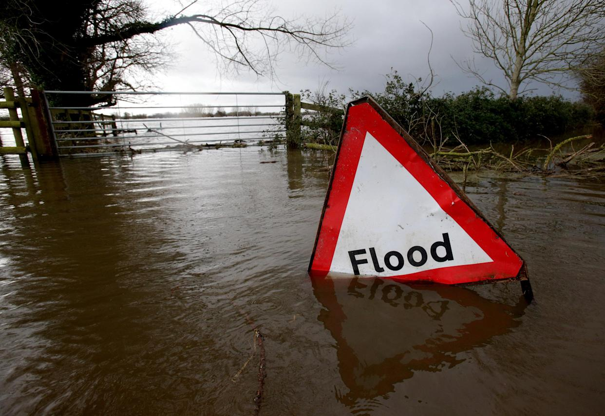 Flooding in Somerset, England, in 2014. (Photo: Matt Cardy/Getty Images)
