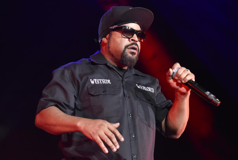 Rapper and actor Ice Cube appeared on Fox News on Sunday to discuss his work with the Trump administration. (Photo: Tim Mosenfelder/Getty Images)