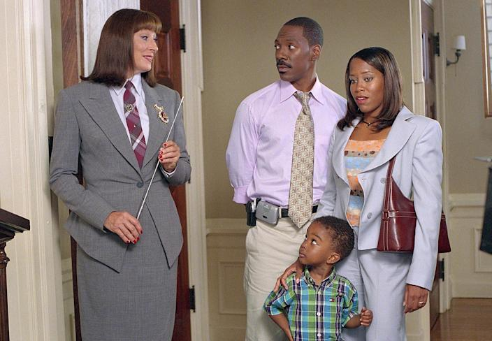 <p>In 2002, King stayed the comedy course and played Grace Rossiter in <em>Legally Blonde 2</em> and Kim Hinton in <em>Daddy Day Care</em>, alongside Eddie Murphy.</p>