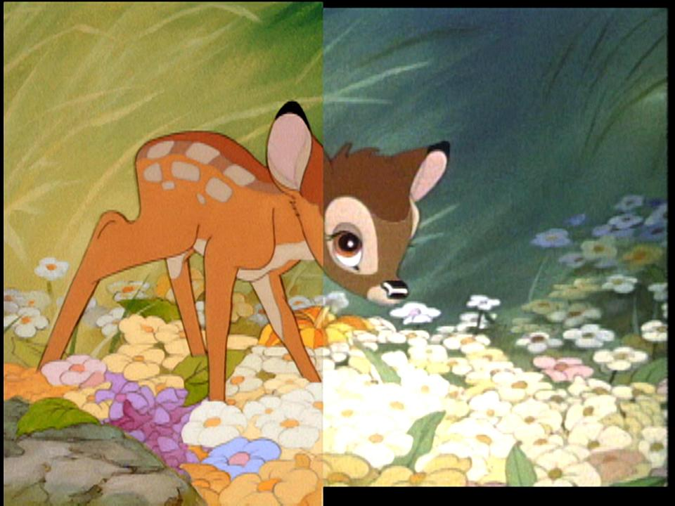 """<p>Bambi is a tear-jerker, so prepare yourself. I don't think I've been more heartbroken in my life than watching for the first time what happens to this little deer's mother. It still haunts me, which is why I can't see the movie again but still recognize its utter iconography. </p> <p><a href=""""https://cna.st/affiliate-link/NdFgiDhcJZd5E48XzkMwttEiGfJpyyKT2brfNX2kL3QLfqbVQA6s5ZibcrNGAxUX8Dy1CkoFZ8EJyViZ4SgxhGde5RdomXHAJQdm4tZB2GyYD6SQKx1qL3wzx33i9oVojRQHjnPJXVt1hPp7pd2tQYWqao2wpsgrK?cid=5e864a387c94c6000856a01f"""" rel=""""nofollow noopener"""" target=""""_blank"""" data-ylk=""""slk:Available on Disney+"""" class=""""link rapid-noclick-resp""""><em>Available on Disney+</em></a></p>"""