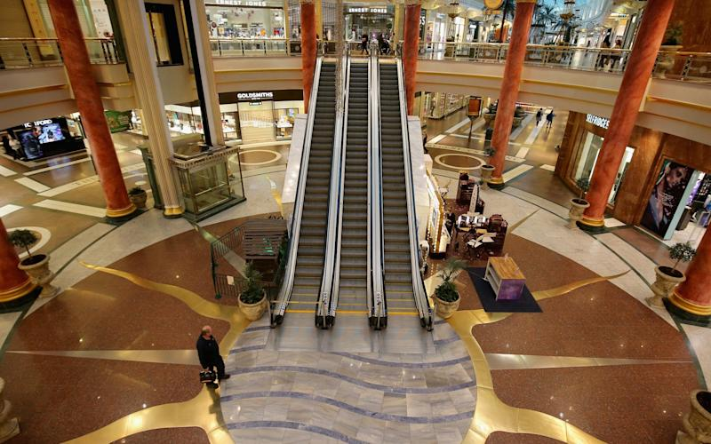 Intu owns Manchester's Trafford Centre - Getty Images Europe
