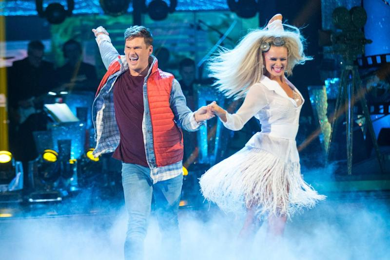 Early exit: Lee Ryan was booted out in week three (BBC/Guy Levy)