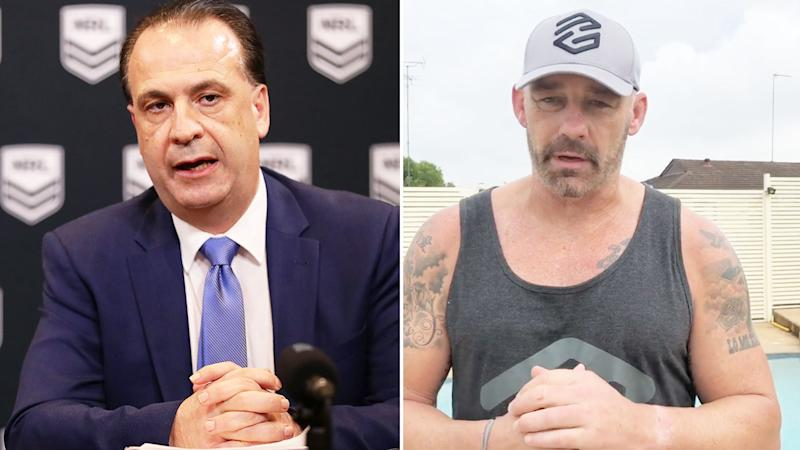Mark Geyer is not a fan of the NRL rule changes being proposed by footy bosses.