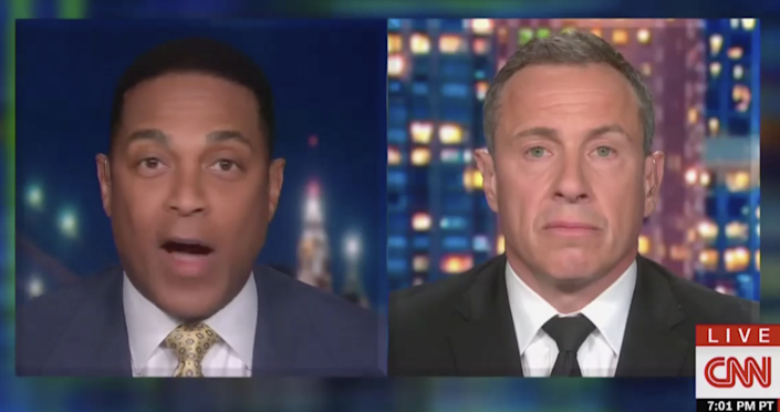 CNN's Don Lemon fires back at Chris Cuomo for an interview with Rick Santorum following racist remarks about Native Americans. (CNN)