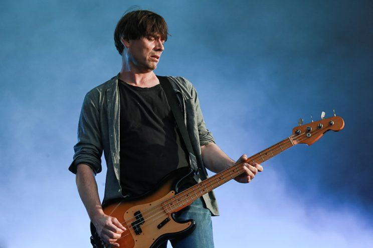 Alex James of Blur (Photo by Christie Goodwin/Redferns via Getty Images)