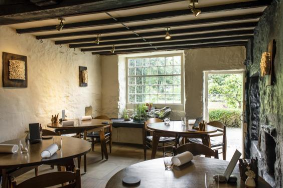 Rustic vibes at L'Enclume's restaurant
